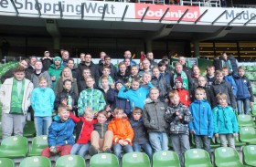 Gelungener Nachmittag in der Hansestadt: SVKH-Kinder bei Werder Bremen