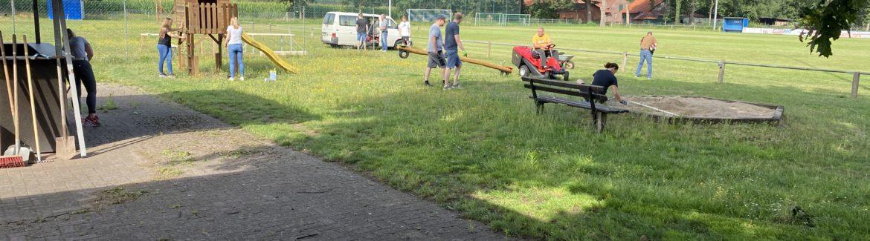 Sportgelände in Kreuzkrug auf Vordermann gebracht